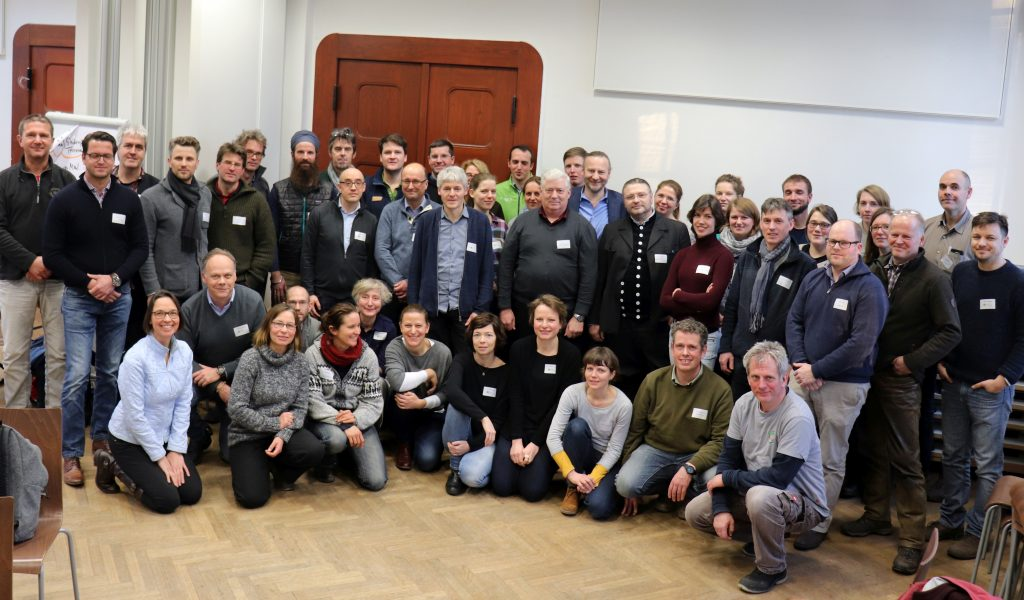05.02.2018; Hochschule für nachhaltige Entwocklung Eberswalde (HNEE); Jahrestreffen Innoforum Ökolandbau